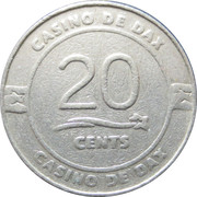 20 Cents - Casino De Dax – reverse