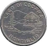 Token - Lago di Codana – obverse