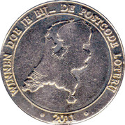 Commercial Token - Nationale Postcode Loterij (270 million Euro) – obverse