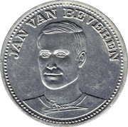 Shell Token - Voetbal Top 20 (Jan van Beveren) – obverse