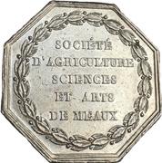 Token - Société d'agriculture sciences et arts de meaux – reverse