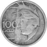 100 Gold - Il Tempo (Apollo 12) – reverse