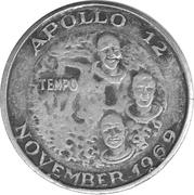 100 Gold - Il Tempo (Apollo 12) – obverse