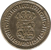 Token - Tuning (Coat of Arms) – reverse