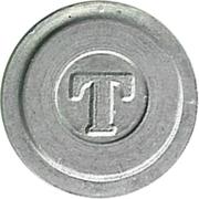 Telephone Token - T – obverse