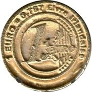 1 Euro - Le Petrin Ribeirou (Irish Pound) – reverse