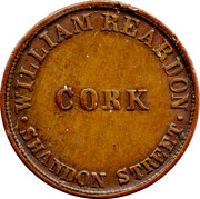 1 Farthing (Cork - William Reardon) – reverse