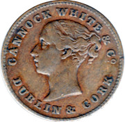 1 Farthing (Dublin - Cannock White & Co.) – obverse