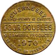 Four Doubles Token – reverse