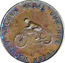 Golden Medal Gum (Motorcycle racing) – obverse