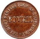Token - Bovril – obverse