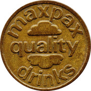 1 Maxpax Drink Token – obverse