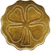 Token (Four-leaf clover) – obverse