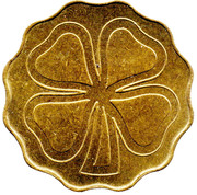 Token (Four-leaf clover) – reverse