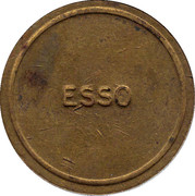 Token - Esso (Carebridge) – reverse