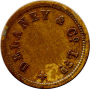 1 Game Token - Delaney & Co Ltd – obverse