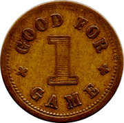1 Game Token - Delaney & Co Ltd – reverse