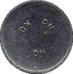 Token - DN (Dransfield Novelty) – obverse