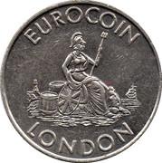 Token - Eurocoin London (Britannia) – obverse