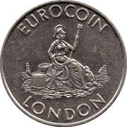 Token - Eurocoin London (Britannia) – reverse