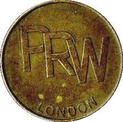 Token - PRW (London) – obverse