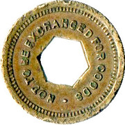 Token - For Amusement Only (Not To Be Exchanged For Goods) – reverse