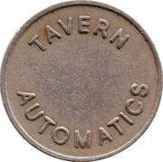 Token - Tavern Automatics – obverse