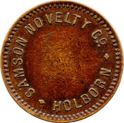 Token - Samson Novelty Co – obverse