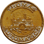 Token - Thomas Automatics – obverse