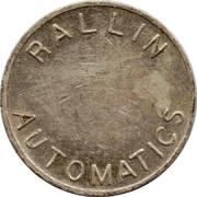 Token - Rallin Automatics – obverse