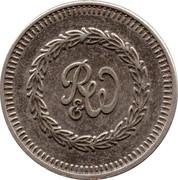 Token - R&W (Ruffler & Walker; Copper-nickel) – obverse