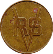 Token - RV Smith – obverse