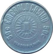 50 Cent - Emerald Casino – obverse