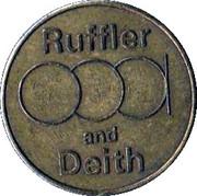 5 New Pence - Ruffler & Deith – obverse