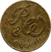 Token - R&W London (17.9 mm) – obverse