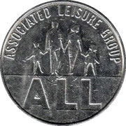 10 Pence - Associated Leisure Group (Copper-nickel) – obverse