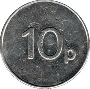 10 Pence - Associated Leisure Group (Copper-nickel) – reverse