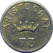 6 Pence - Aristocrat (73) – obverse