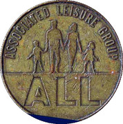 10 Pence - Associated Leisure Group (Brass) – obverse