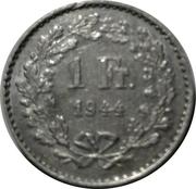 1 Franc (AG Sigg) – reverse