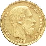 20 Francs 1888 (Lauer, Nürnberg) – obverse