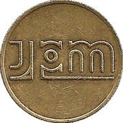 20 Pence Token - JPM  – obverse