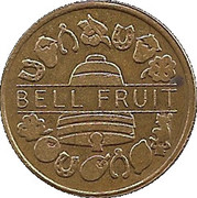25 Pence - Bell Fruit – obverse