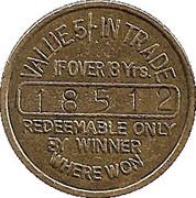 5 Pence - Bell Fruit – reverse