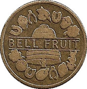 5 Pence - Bell Fruit – obverse