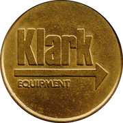 Token - Klark Equipment – obverse