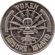 Token - Leisure Island – reverse
