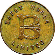10 Pence - Barry Noble Limited – obverse