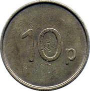 10 Pence - JPM – reverse