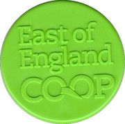 Charity Token -  East of England Co-Op – obverse